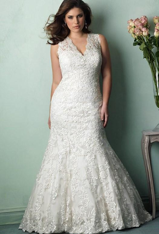 Beautiful At Any Size Wedding Dress Styles For Plus Size Brides