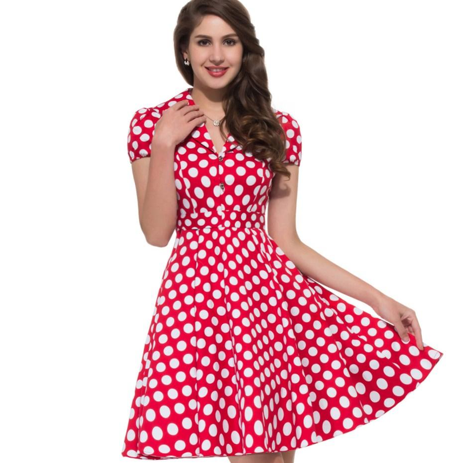 rockabilly plus size dress pluslookeu collection