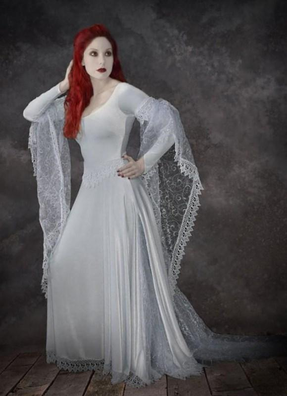 Plus size gothic wedding dress - PlusLook.eu Collection