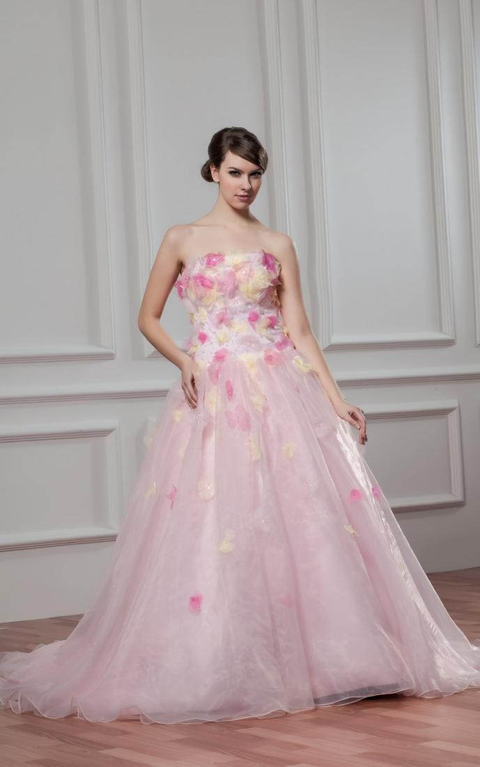 Pink Plus Size Wedding Dress Pluslook Collection