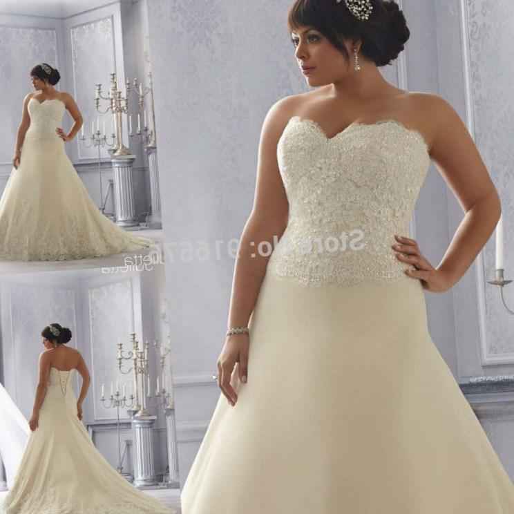 Plus size sweetheart wedding dresses collection for Plus size trumpet wedding dress with sleeves