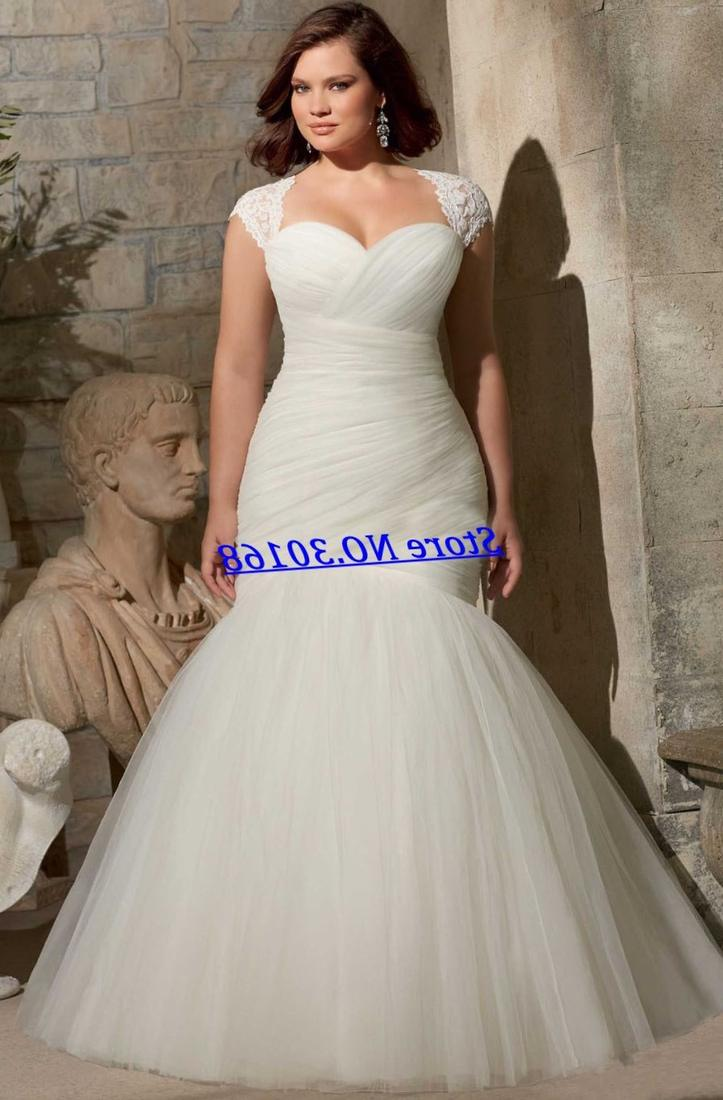 Cheap plus size lace dresses collection for Lace wedding dresses plus size