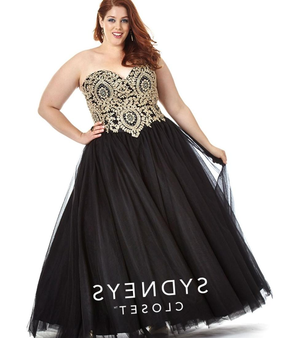 Plus Size Ball Gown Prom Dresses Pluslook Collection