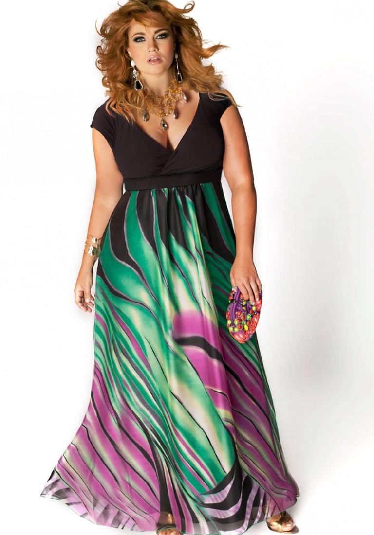 Black plus size maxi dresses - PlusLook.eu Collection