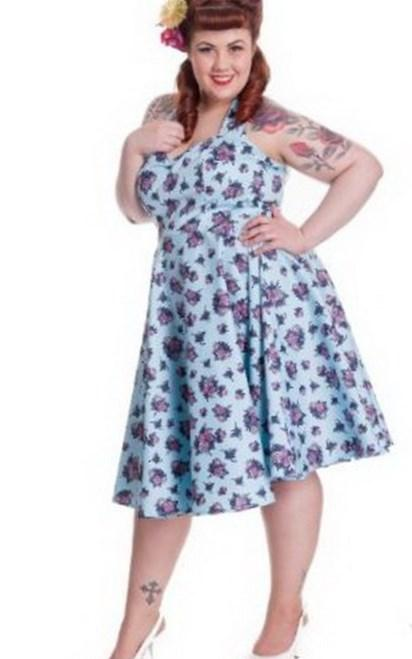 Fast Shipping Women Summer Casual Dress Plus Size Rockabilly Pinup Swing Vintage Retro Dress 50s 60s Garden Party Dresses 6086 baby
