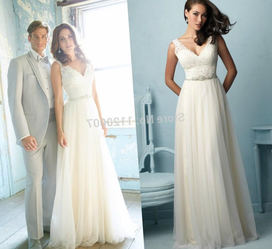 Permalink to Plus Size Beach Wedding Dresses Cheap