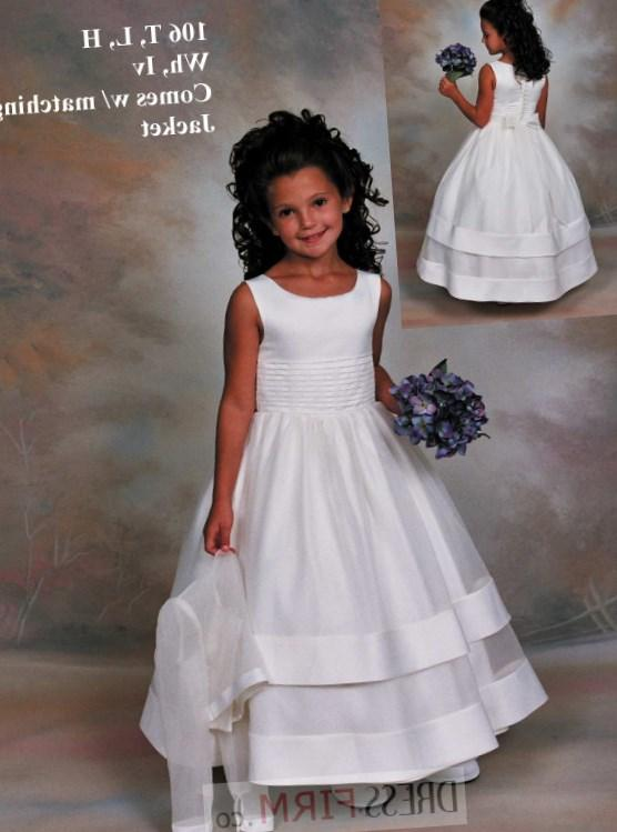 first communion dress is sure to sell out early! Quality made in the USA and fully lined. This communion dress is available in sizes 6-12 and plus sizes