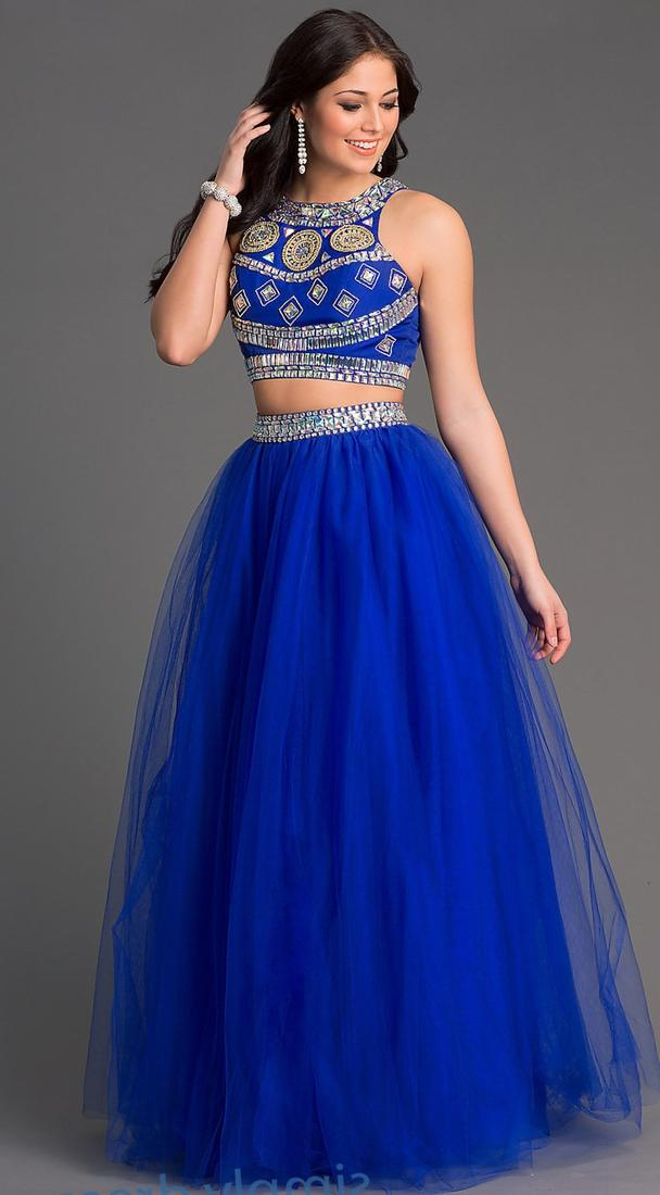 White and gold mermaid prom dresses 2017
