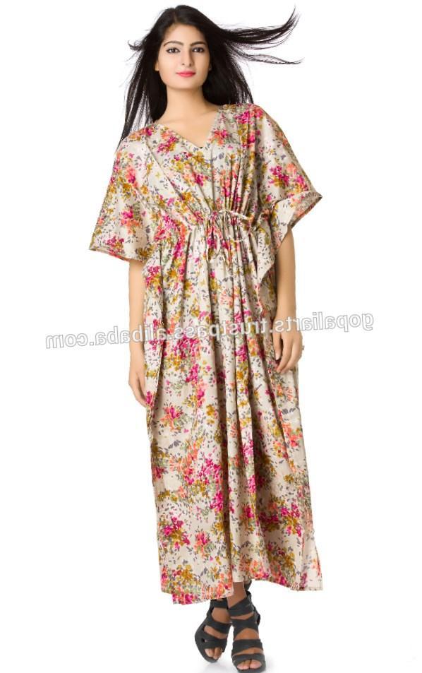 Plus size kimono maxi dress