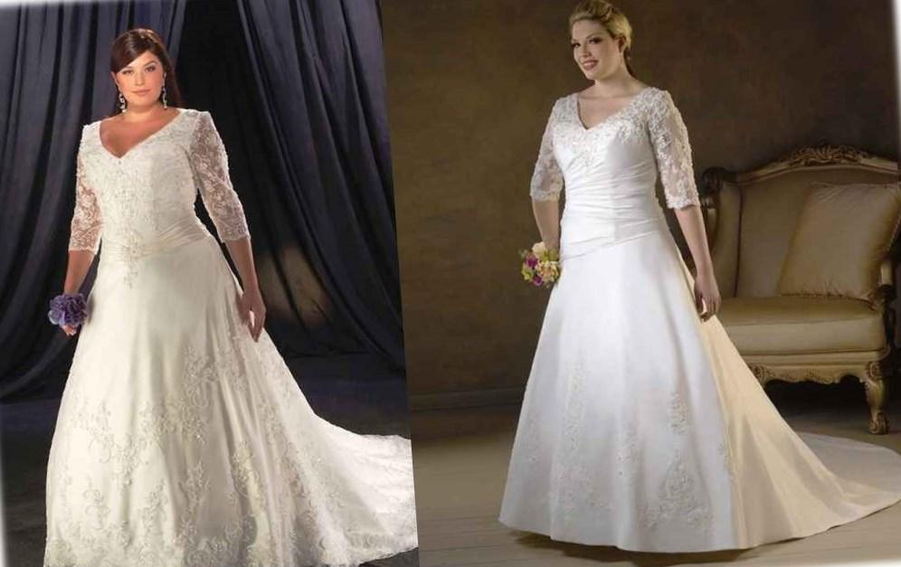 Related posts of Plus Size Bridesmaid Dresses With Sleeves