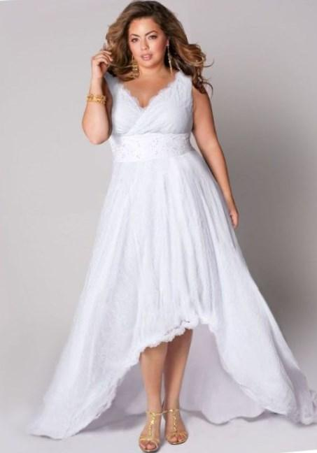 White plus size summer dresses - PlusLook.eu Collection