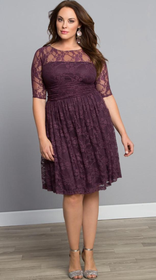 Plus size lace dresses for women - PlusLook.eu Collection