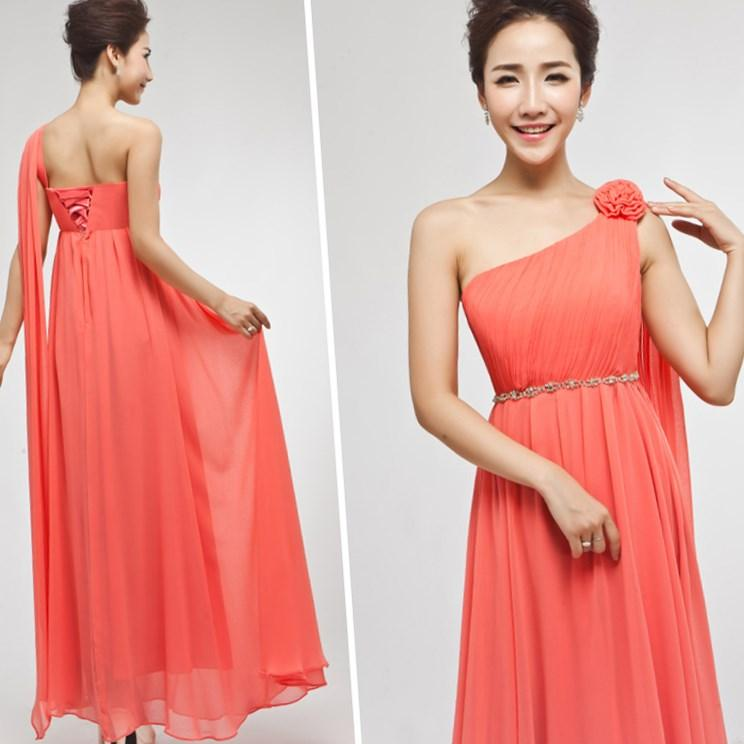 Plus Size Coral Bridesmaid Dresses Pluslook Collection