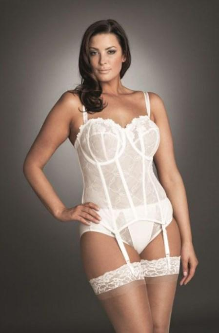 bf5ca7fbfe1 plus size wedding lingerie from the new bridal collection at simply be for  gorgeous