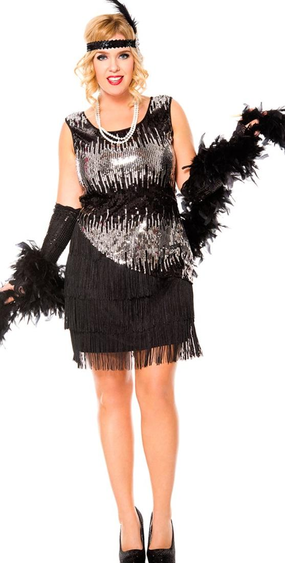 Flapper Plus Size Dress Pluslook Collection
