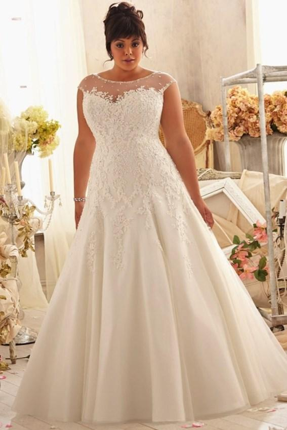 Best Wedding Dress Styles For Plus Size Collection