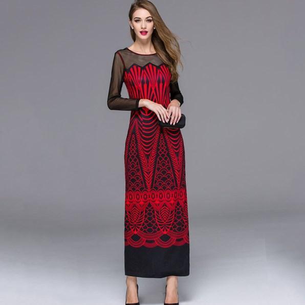 Maxi dress pattern uk