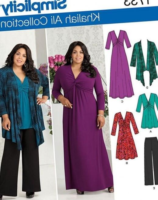 Plus Size Dresses Patterns Free Discount Evening Dresses