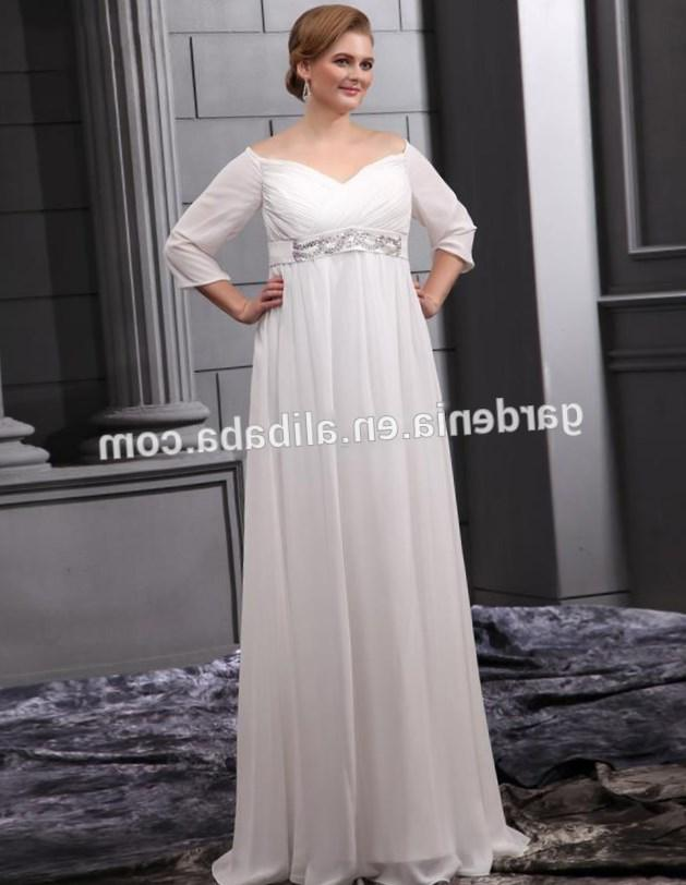 Plus size dresses empire waist - PlusLook.eu Collection