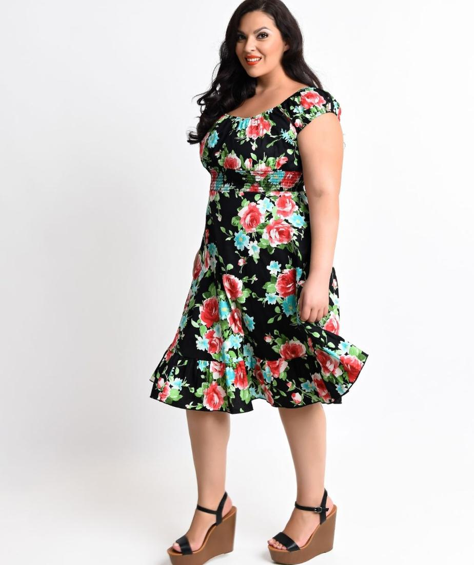 1940s Plus Size Dresses Pluslook Collection