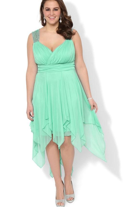 plus size dresses high low: clothing&fashion for women