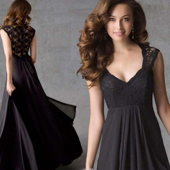 Beautiful evening dresses for plus size women