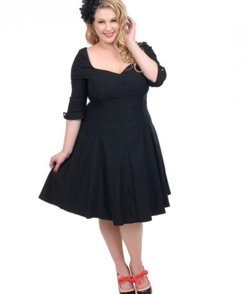 50 style dresses for plus sizes