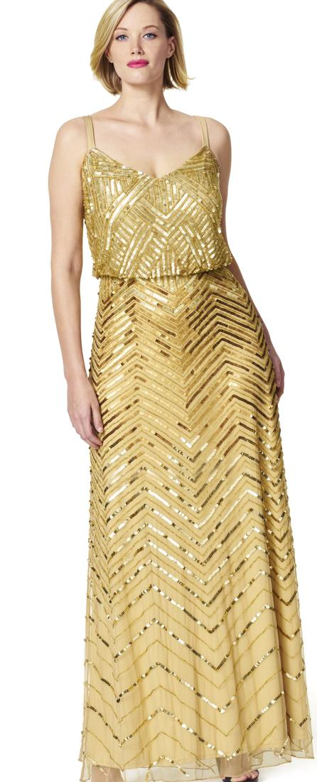 OMG, we see sequins \u2026 everywhere! As we head into the holiday season, it is time to don those gowns, cocktail dresses, and plus size sequins statement items