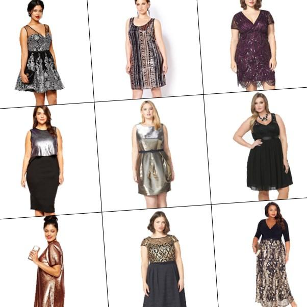 As we head into the holiday season, it is time to don those gowns, cocktail dresses, and plus size sequins statement items with a bit of glitz