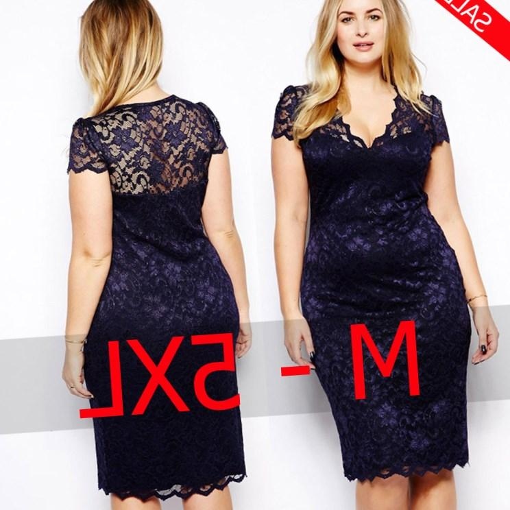 plus size 4xl 5xl 6xl women dresses Sexy ladies casual Lace dress Vestidos Dress Short Sleeve