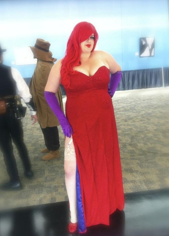 Plus Size Jessica Rabbit Dress Re Re