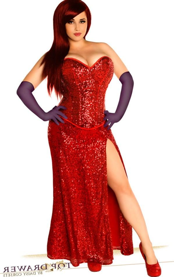 Jessica Rabbit Dress Plus Size