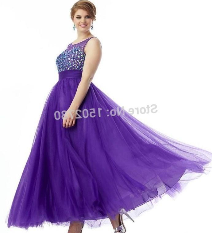Purple maxi dress plus size - PlusLook.eu Collection