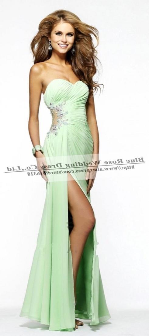 Lime green a-line plus size dress