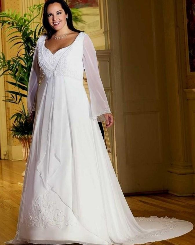 Beautiful Western Wedding Dresses Plus Size Gallery ...