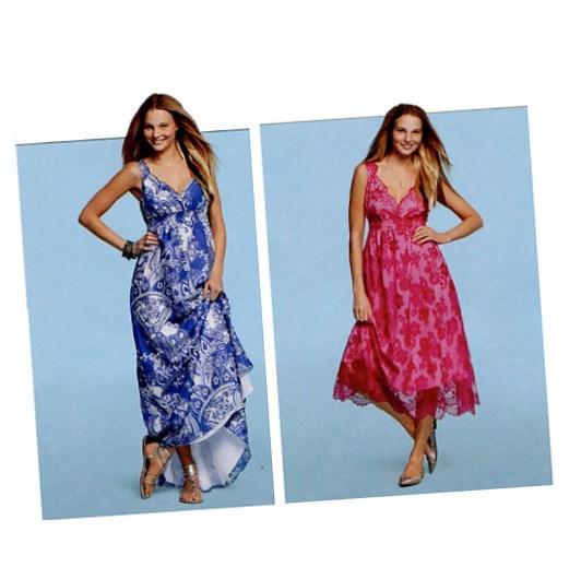 Plus Size Summer Dress Patterns Pluslook Eu Collection