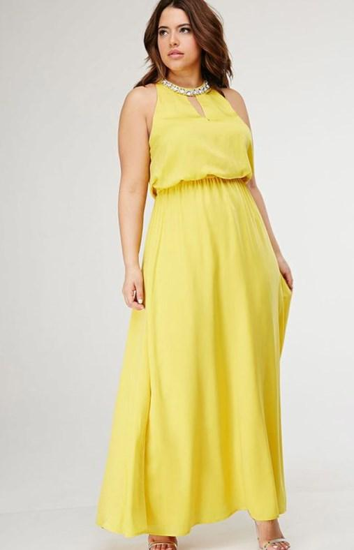 Forever 21 Plus Size Maxi Dresses Pluslook Collection