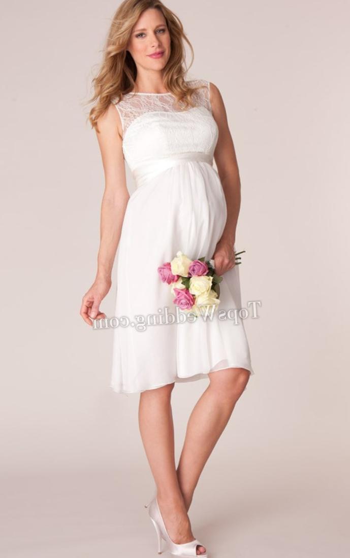 Tea Length Plus Size Bridal Dresses 39