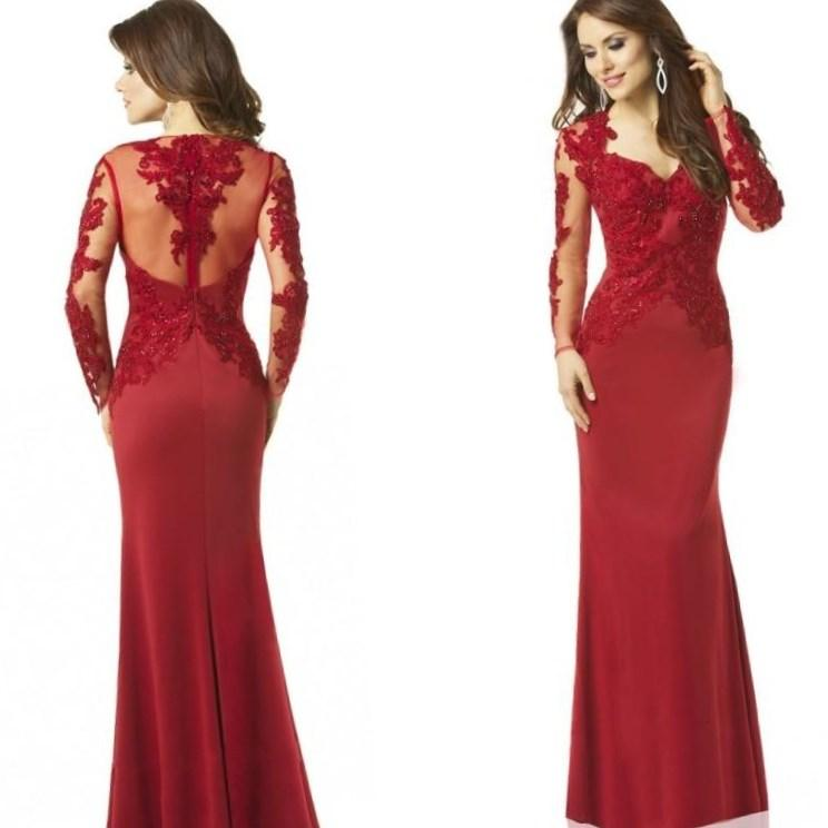 Plus Size Red Prom Dresses
