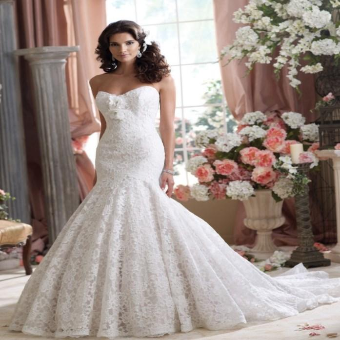 2017 High Fashion Designer Arabic Lace Mermaid Wedding Dress With Cathedral Train Plus Size Sleek Celebrity Vestido De Noiva