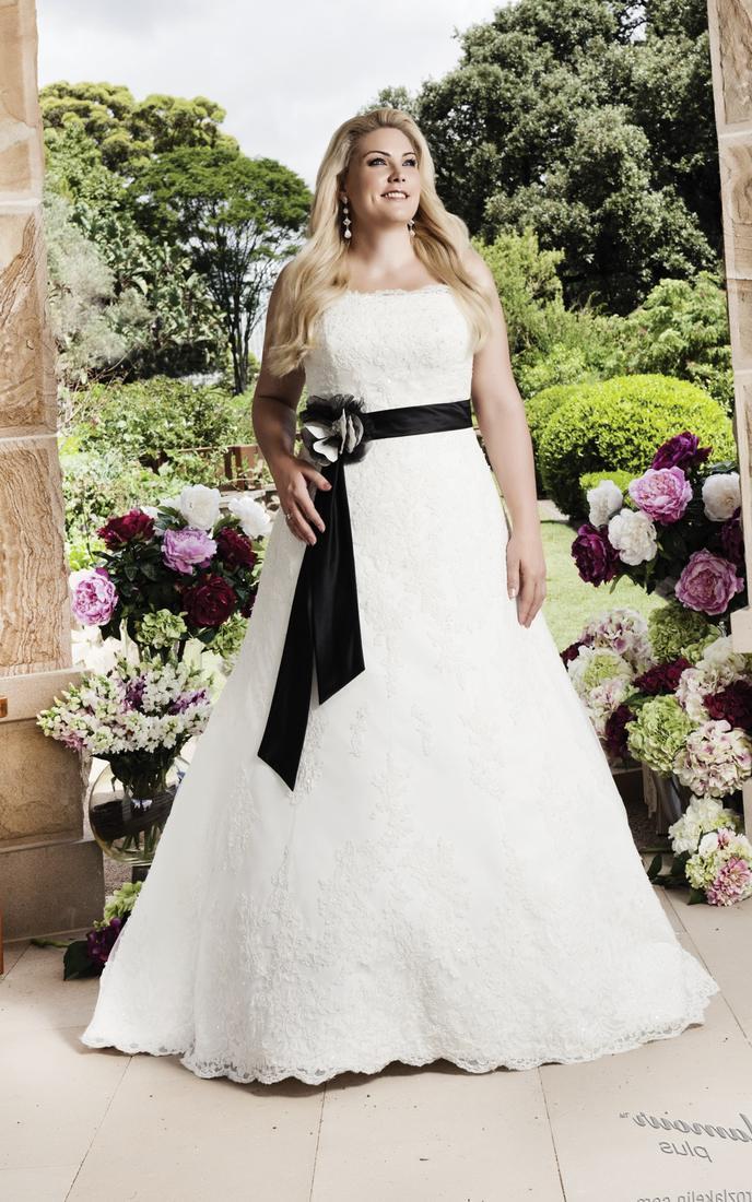 Glamour Plus Size Wedding Dress Roz La Kelin