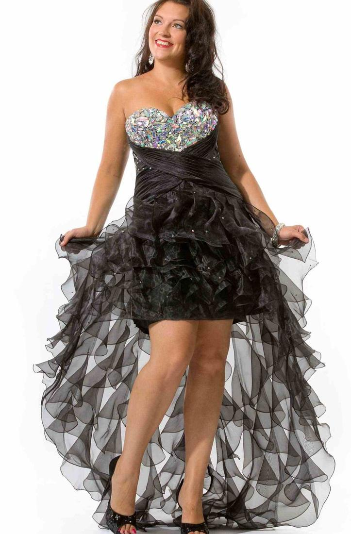 prom dresses plus size high low Plus Size Prom Dresses Dressed Up Girl Prom Dresses Plus