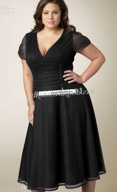 Plus size black bridesmaid dress - PlusLook.eu Collection