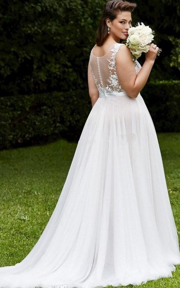 Plus Size Convertible Wedding Dress