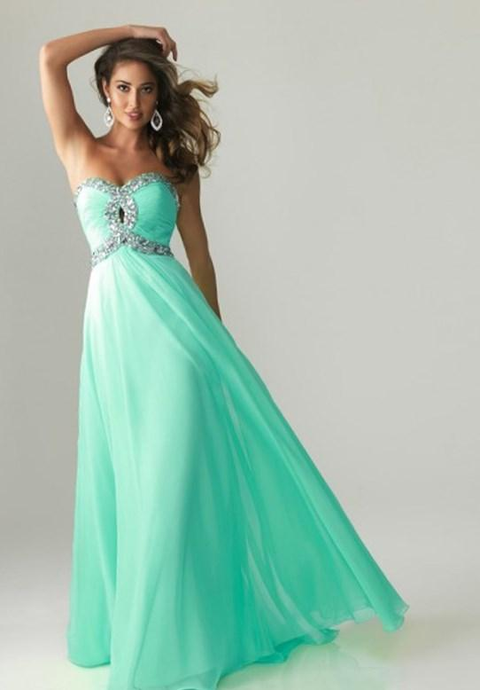 Cheap Plus Size Mint Green Dress Prom Dresses 2018