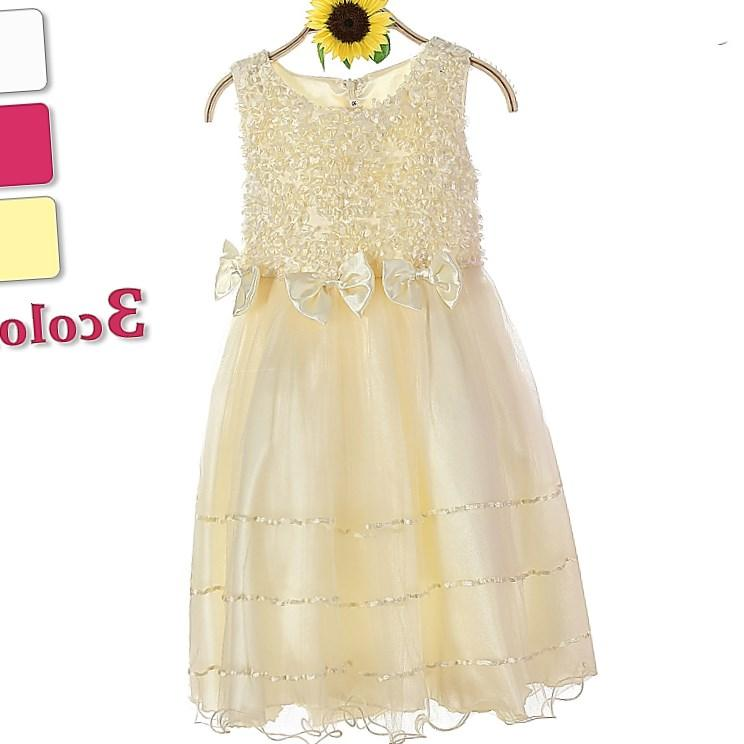 Turkey wholesale children clothes beautiful first communion dress girls plus size special occasion dress