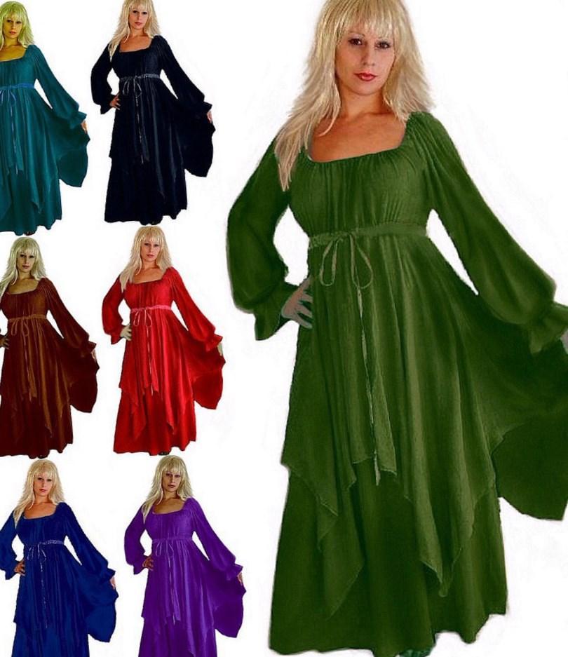 Medieval Plus Size Dresses Pluslook Eu Collection