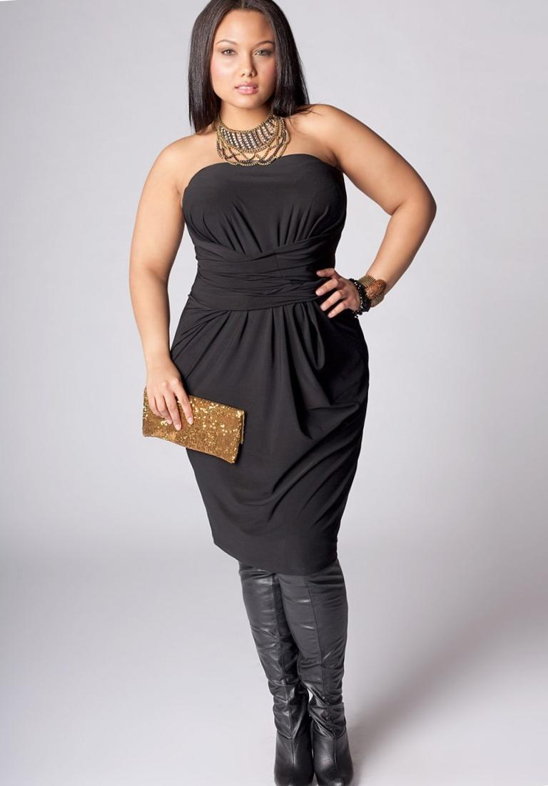 Plus Size Infinity Dress Pluslook Collection
