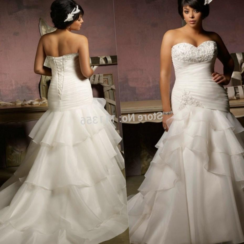 Wedding dress plus size cheap collection for Discount plus size wedding dresses