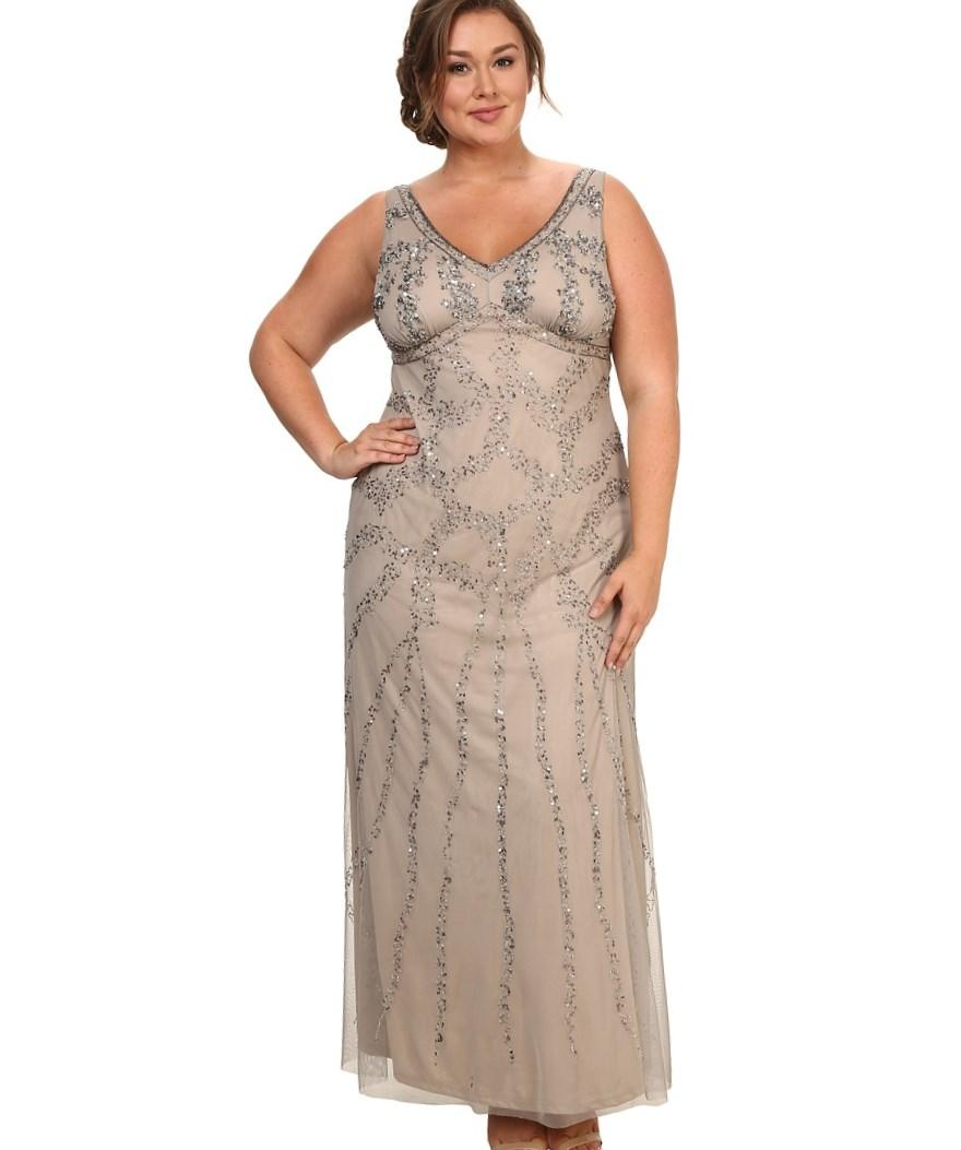 Art deco plus size dress gaussianblur 1920s dresses plus size pluslook eu collection ombrellifo Images